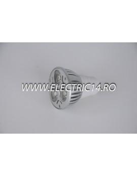 Bec led MR16 3w POWER Lumina Rece