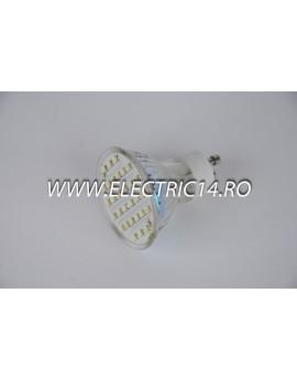 Bec led GU10 2,5w 30 PCS SMD Lumina Calda