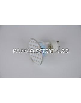 Bec led GU10 2,5w 30 PCS SMD Rosu