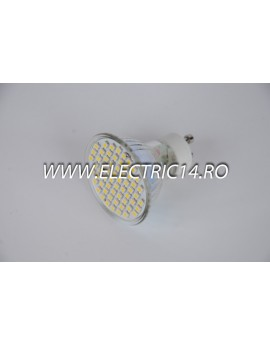 Bec led GU10 3,5w 60 PCS SMD Lumina Rece