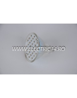 Bec led MR16 2,5w 30 PCS SMD Albastru