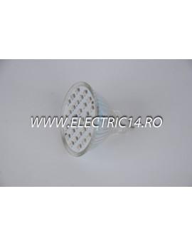 Bec led MR16 2,5w 30 PCS SMD Albastru