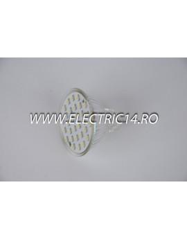 Bec led MR16 2,5w 30 PCS SMD Lumina Calda
