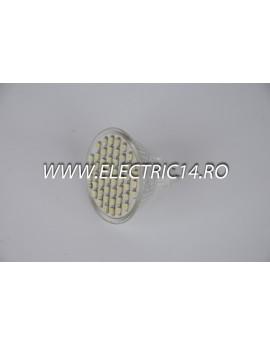 Bec led MR16 3w 48 PCS SMD  Lumina Calda