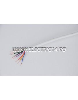 Cablu Alarma 8x0,5mm Rola 100ml