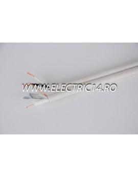 Cablu Camere RG59 2x0,35 Rola 100ml