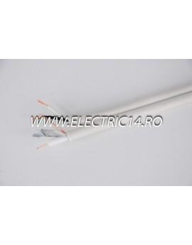 Cablu Camere RG59 2x0,50 Rola 100ml