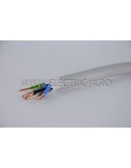 Cablu CYYF(NYMJ)5x4 se livreaza la metru liniar