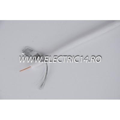 Cablu Tv 75 Ohm  Rg6 Rola 100ml