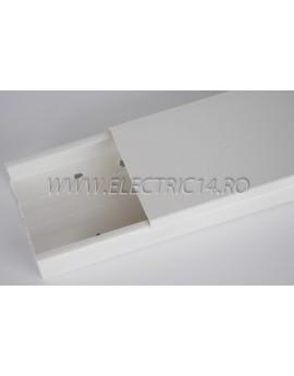 Canal cablu PVC 100x40 mm