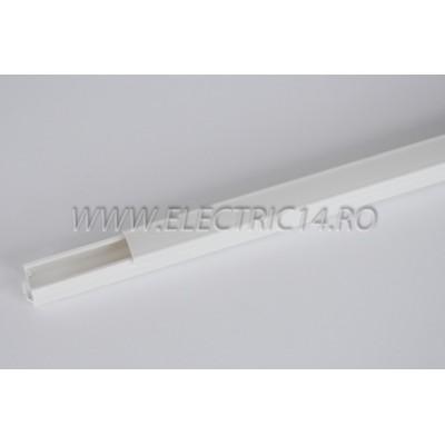 Canal cablu PVC 12x12 mm