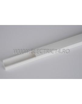 Canal cablu PVC 20x10 mm