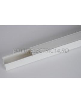 Canal cablu PVC 25x25 mm