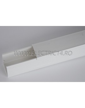 Canal cablu PVC 40x40 mm