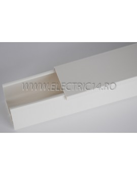 Canal cablu PVC 60x40 mm