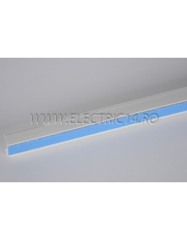 Canal cablu PVC  adeziv 12x12 mm