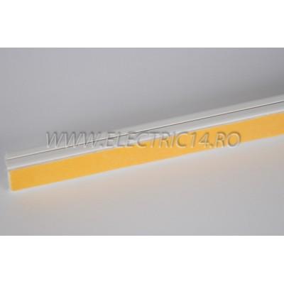 Canal cablu PVC  adeziv 15x10 mm