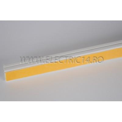 Canal cablu PVC  adeziv 20x10 mm