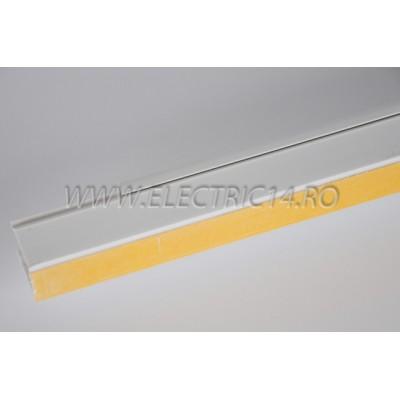 Canal cablu PVC  adeziv 25x25 mm