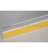 Canal cablu PVC  adeziv 40x25 mm