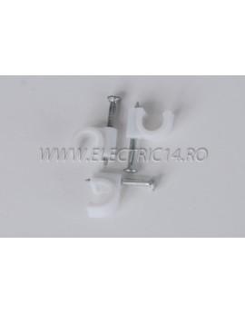 Clema Cui 6mm Set - 100 buc CLEME - COLIERE - DIBLURI