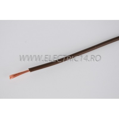 Conductor Flexibil (MYF) Cupru 2,5 mm Maro Rola 100ml