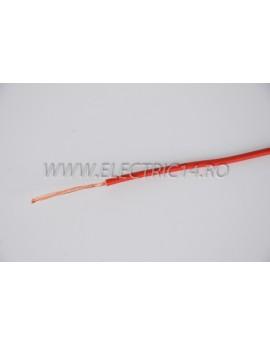 Conductor Flexibil (MYF) Cupru 1,5 mm Rosu Rola 100ml