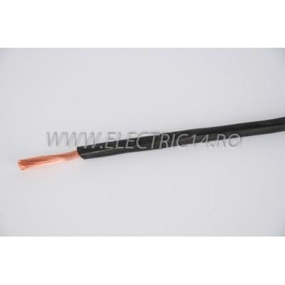 Conductor Flexibil (MYF) Cupru 10 mm Negru Rola 100ml