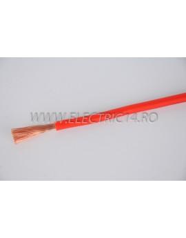 Conductor Flexibil (MYF) Cupru 10 mm Rosu Rola 100ml