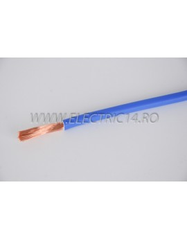 Conductor Flexibil (MYF) Cupru 16 mm Albastru Rola 100ml