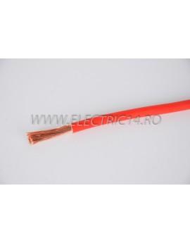 Conductor Flexibil (MYF) Cupru 16 mm Rosu Rola 100ml CONDUCTORI