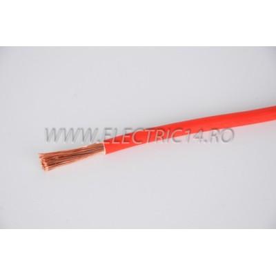 Conductor Flexibil (MYF) Cupru 16 mm Rosu Rola 100ml