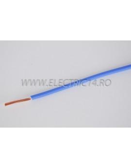 Conductor Flexibil (MYF) Cupru 2,5 mm Albastru Rola 100ml