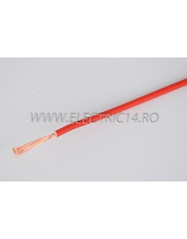 Conductor Flexibil (MYF) Cupru 2,5 mm Rosu Rola 100ml CONDUCTORI