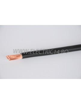 Conductor Flexibil (MYF) Cupru 25 mm Negru Rola 100ml