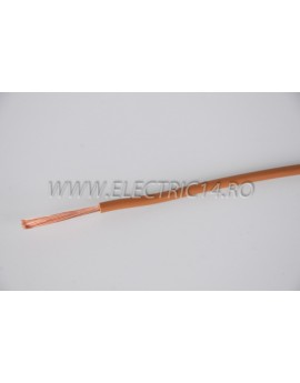 Conductor Flexibil (MYF) Cupru 4 mm Maro Rola 100ml CONDUCTORI
