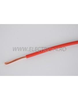 Conductor Flexibil (MYF) Cupru 4 mm Rosu Rola 100ml CONDUCTORI