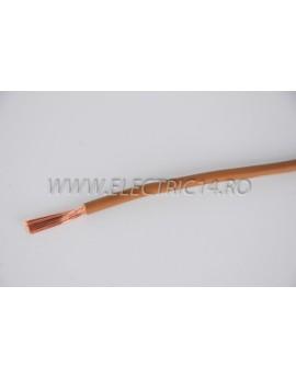 Conductor Flexibil (MYF) Cupru 6 mm Maro Rola 100ml CONDUCTORI