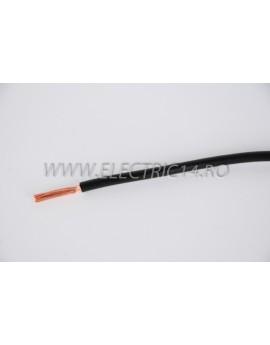 Conductor Flexibil (MYF) Cupru 6 mm Negru Rola 100ml