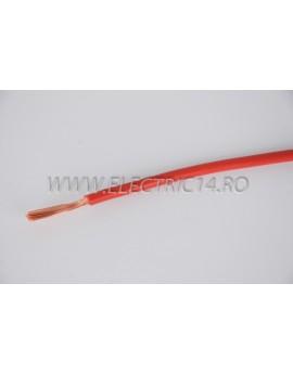 Conductor Flexibil (MYF) Cupru 6 mm Rosu Rola 100ml CONDUCTORI