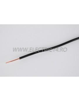 Conductor Rigid (FY) Cupru 1.5 mm Negru Rola 100ml CONDUCTORI