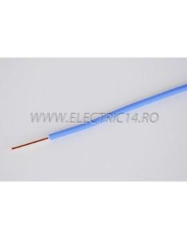 Conductor Rigid (FY) Cupru 2.5 mm Albastru Rola 100ml