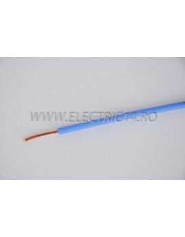 Conductor Rigid (FY) Cupru 4 mm Albastru Rola 100ml CONDUCTORI