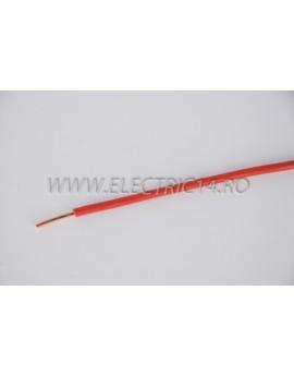 Conductor Rigid (FY) Cupru 4 mm Rosu Rola 100ml