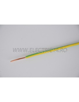 Conductor Rigid (FY) Cupru 4 mm Verde Galben Rola 100ml CONDUCTORI