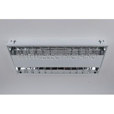 Corp Neon T5 Incastrat 2x14w Oglinda
