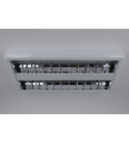 Corp Neon T8 Aplicat 2x18w Oglinda (NGLB2)