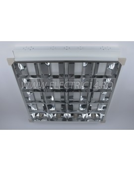 Corp Neon T8 Incastrat 4x18w Oglinda (RR)