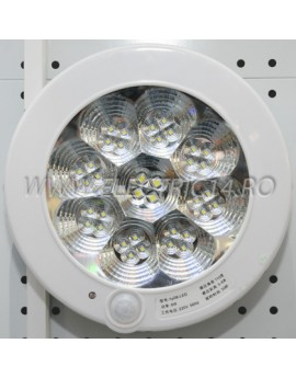 Aplica led 7w KB02 senzor miscare