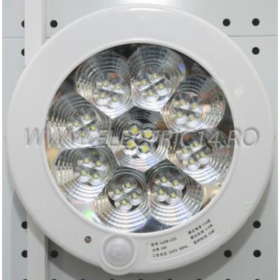 Aplica led 7w KB02 senzor miscare